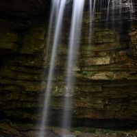 Kiner Creek Falls, Фолл-Бранч