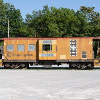 Caboose At The Franklin Depot, Франклин