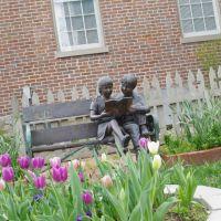 Methodist Church office garden Franklin, TN, Франклин