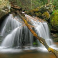 Cascade in Cherokee National Forest, Хамптон