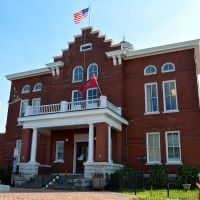 Trousdale County Courthouse, Hartsville, TN, Хартсвилл