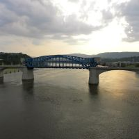Market Street Bridge - Chattanooga TN, Чаттануга