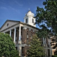 Bedford County Courthouse - Built 1874 - Shelbyville, TN, Шелбивилл