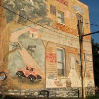 Wall Mural, Shelbyville, TN, Шелбивилл