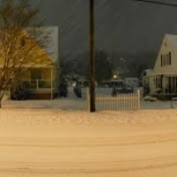 West G St blizzard pano, Элизабеттон