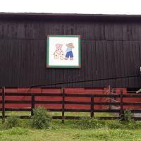 Floyd Storie Barn 1 on www.QuiltTrail.org, Элизабеттон