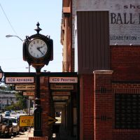 Clock in Elizabethton, Элизабеттон