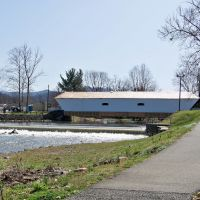 Elizabethton Covered Bridge - Elizabethton, TN - ca. 1882, Элизабеттон