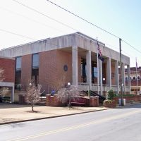Unicoi County Courthouse - Erwin, TN, Эрвин