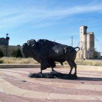 Frontier Texas! Buffalo Statue, Абилин