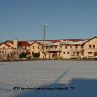 ATSF depot & Harvey House, Амарилло