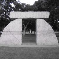Sarsen Caer Sculpture at Richard Greene Linear Park, Arlington, Texas, Арлингтон