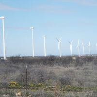 Windfarm Abilene - Albany Texas, Аспермонт