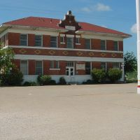 Old T&P Railroad Station in Baird, Texas. 2006., Аспермонт