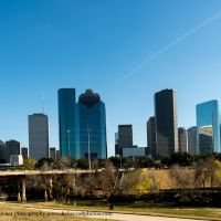 Houston Skyline in the sunshine, Банкер-Хилл-Виллидж