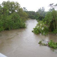 Buffalo Bayou after Hurricane Ike, Банкер-Хилл-Виллидж