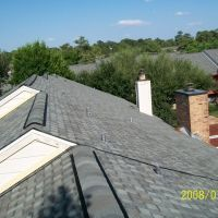 West Belt Townhomes Roof Replacement - Tamko 30 Year Oxford Grey Shingle Roof with Ridge Vent, Банкер-Хилл-Виллидж