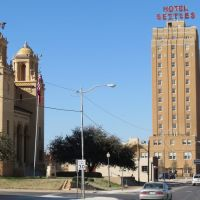 Historic 1930 Settles Hotel, Big Spring, Texas, Биг-Спринг
