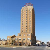 1930 Settles Hotel, Big Spring, Texas, Биг-Спринг