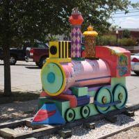 Train in front of Childrens Museum, Брайан