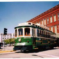 Island Transit trolley, Galveston, Texas, Галвестон