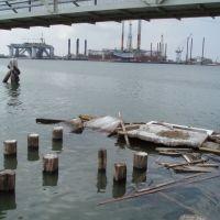 Deserted Oil Rigs of Galveston Bay, Галвестон