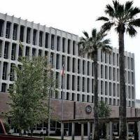Old Galveston County Courthouse - Built 1966 - Galveston, TX, Галвестон