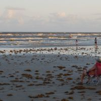 Galveston Beach Sunset, Галвестон