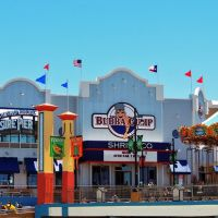 Bubba Gump Shrimp, Pleasure Pier, Галвестон