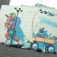 Wall painting, Dallas, Даллас