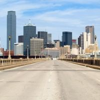 Dallas Texas / Houston Street Viaduct, Даллас