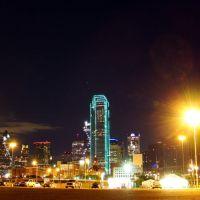 DSC04392 Dallas at Night 4/19/09 - E view, Даллас