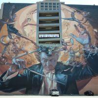 Parking Garage Mural - Dallas, Tx. - August 2008, Даллас
