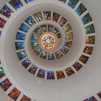 Thanksgiving Chapel ceiling, Dallas, Tx, Даллас