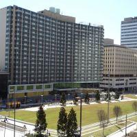 The Former Dallas Hilton, Main Street, Dallas, TX., Даллас