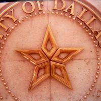 Dallas. Texas.  City Logo., Даллас
