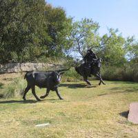Cowboy memorial in Dallas, Даллас