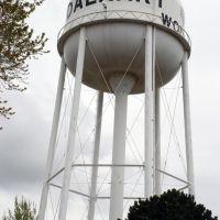 Dalhart, Texas water tower, Далхарт