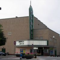 1949 Historic Campus Theater, Denton, TX, Дентон