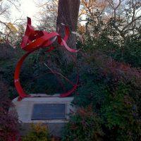 Denton Jazz & Arts Festival Sculpture located in the Denton City Hall Courtyard, Дентон
