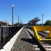 Dowtown Denton A-Train Station, Denton, Texas, Дентон
