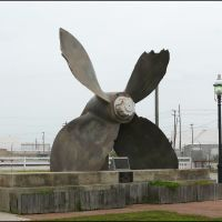 Propeller from the SS Highflyer at the Texas City, Texas Disaster of 1947, Джакинто-Сити