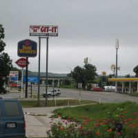Interstate 10 at Junction, TX, Джанкшин