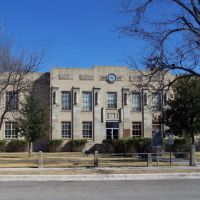 Kimble County Courthouse, Junction, Texas, Джанкшин
