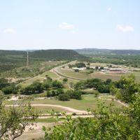Scenic Overlook viewing Junction, TX, Джанкшин