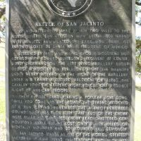 Battle of San Jacinto Roadside Marker, Дир-Парк