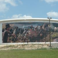 Mural on storage tanks, Дир-Парк