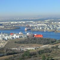 Houston: Oil & Gas storage at the harbor, Дир-Парк