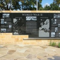 World War II Irving Veterans Memorial, Ирвинг