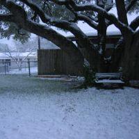 Easter 2007 snowfall, Pershing Park housing, Киллин